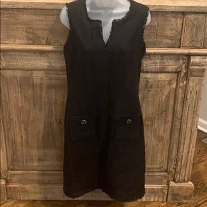 Karl Lagerfeld size 8 back dress